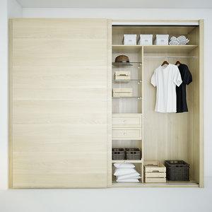 wardrobe cloth 3d max