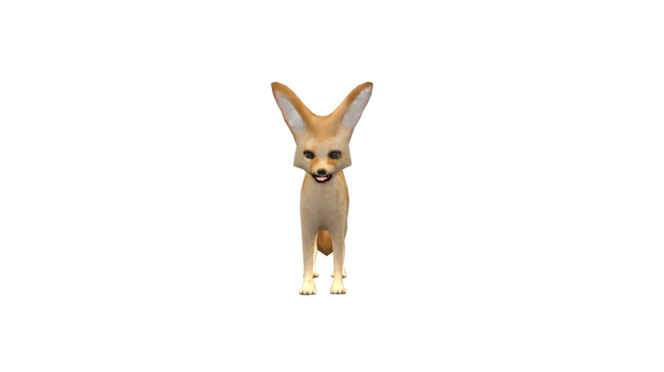 fennec fox 3ds