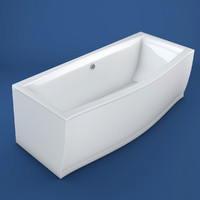 bathtub ravak c4d