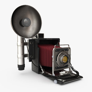 camera speed 3d model