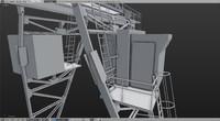 3d crane gantry