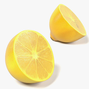 3ds lemon halves