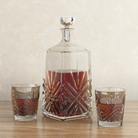 3d model decanter glass whiskey