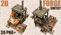 2D Isometric Forge