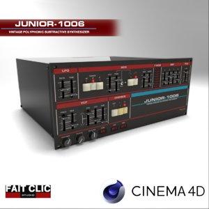 fait clic junior-1006 3d c4d