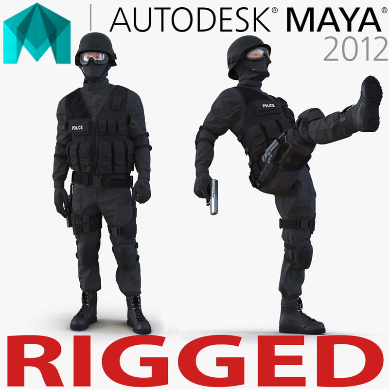 ma swat man rigged