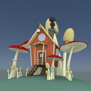 scenery tale house 3d model