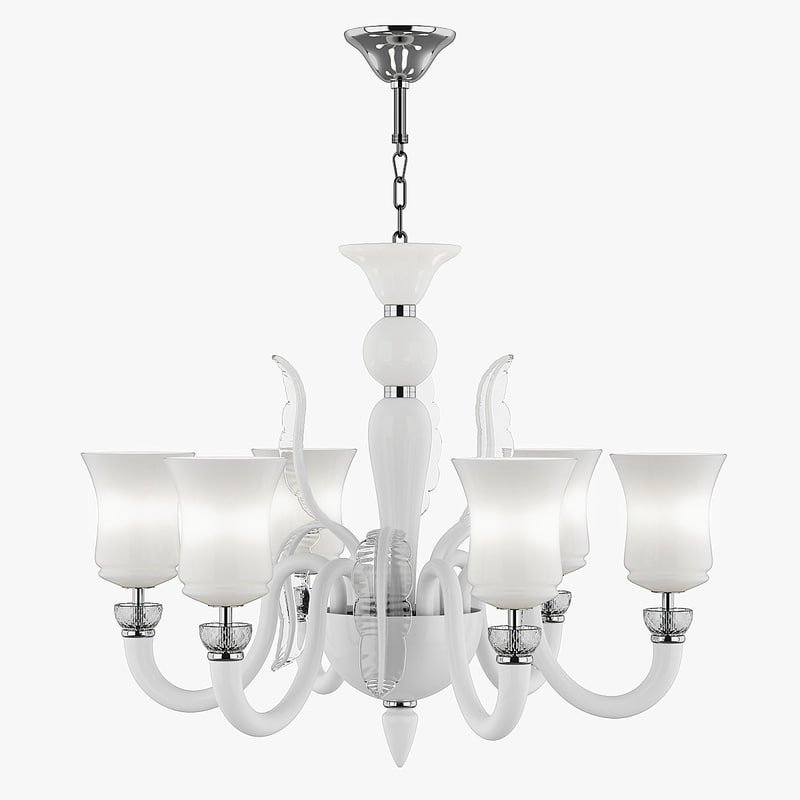 804460 petalo lightstar chandelier 3d model