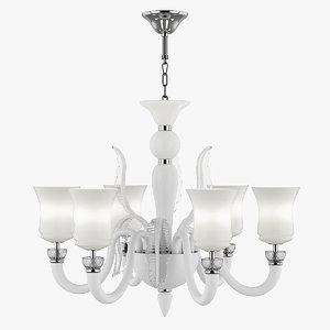 804460 petalo lightstar chandelier 3d model