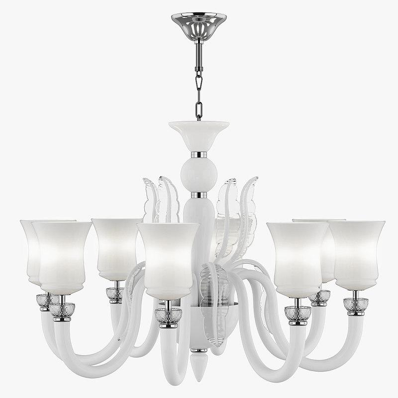 3d max 804480 petalo lightstar chandelier