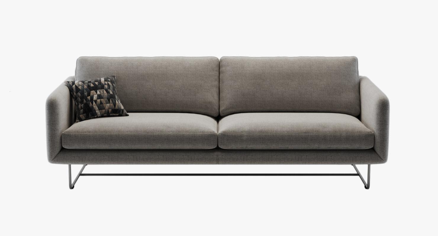design sofa contemporary 3d 3ds