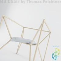 3d m3 chair model