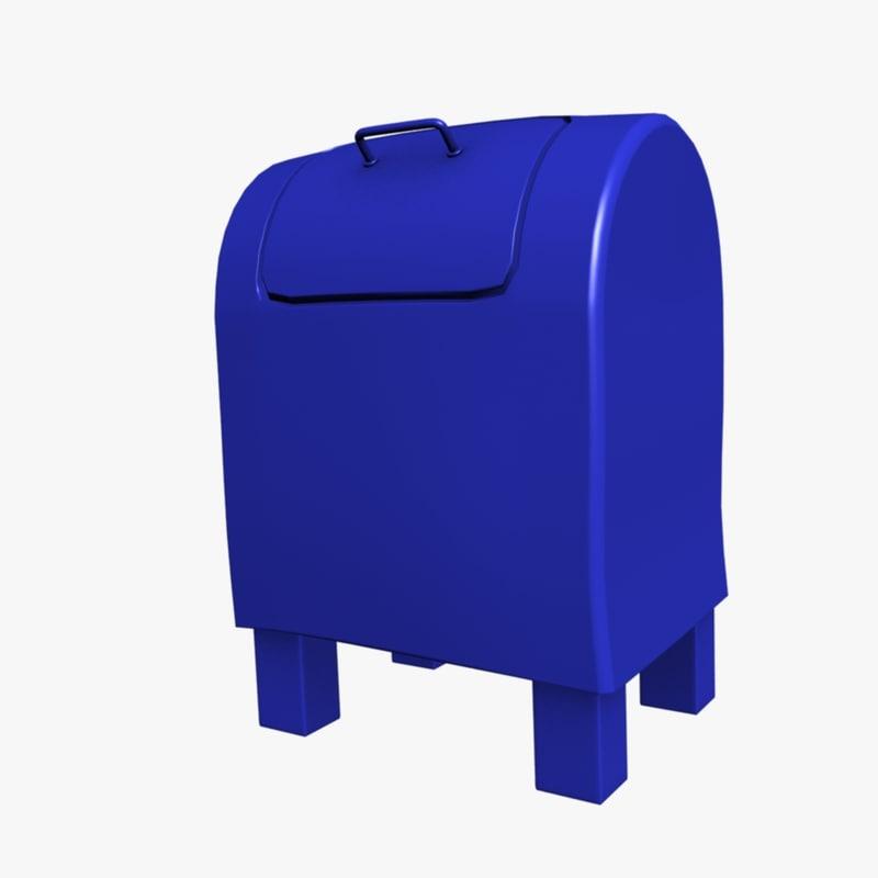 mail box 3d model
