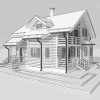 Wooden house 4