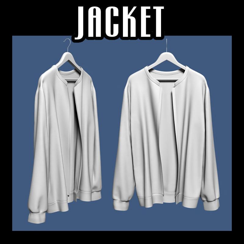 3d model of jacket hanger