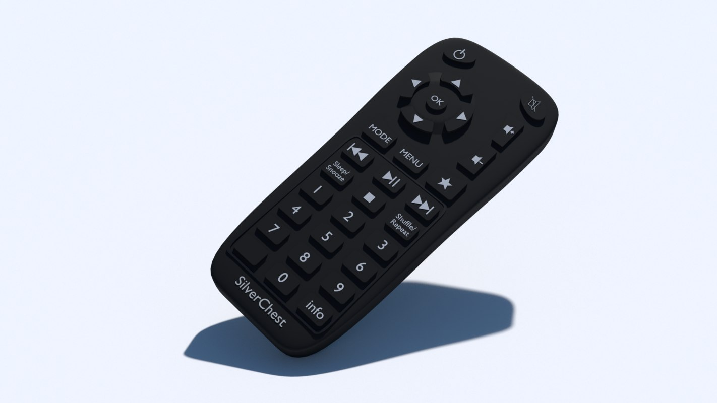 obj small tv remote