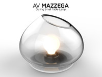 av curling small table lamp max