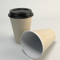 Coffee Cup Empty Takeout