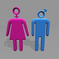 male female symbols max