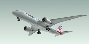 max boeing 787-8 dreamliner plane