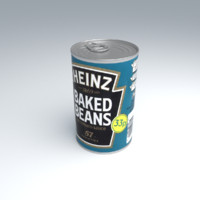 Heinz Baked Beans can