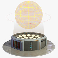 3d fbx display hologram projector