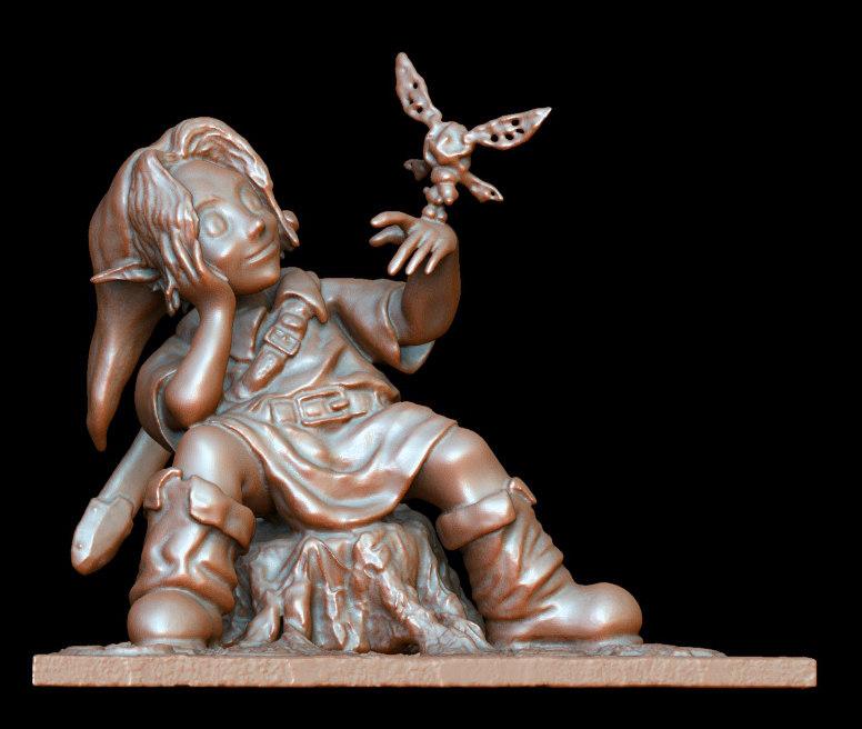 3ds digitally statue