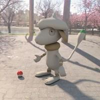 3d model pokemon smeargle