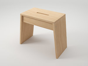 taburete stool 3d model