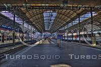 LUZERN BAHNHOF TRAIN STATION HDR