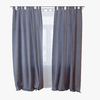 3d model curtains 027