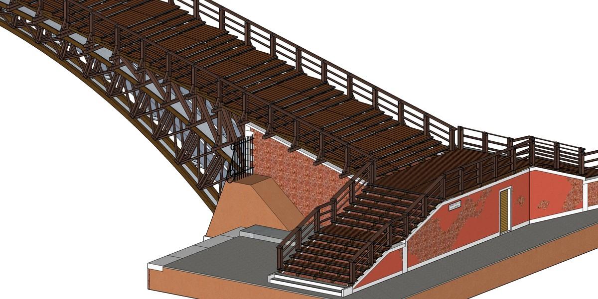 3d accademia bridge