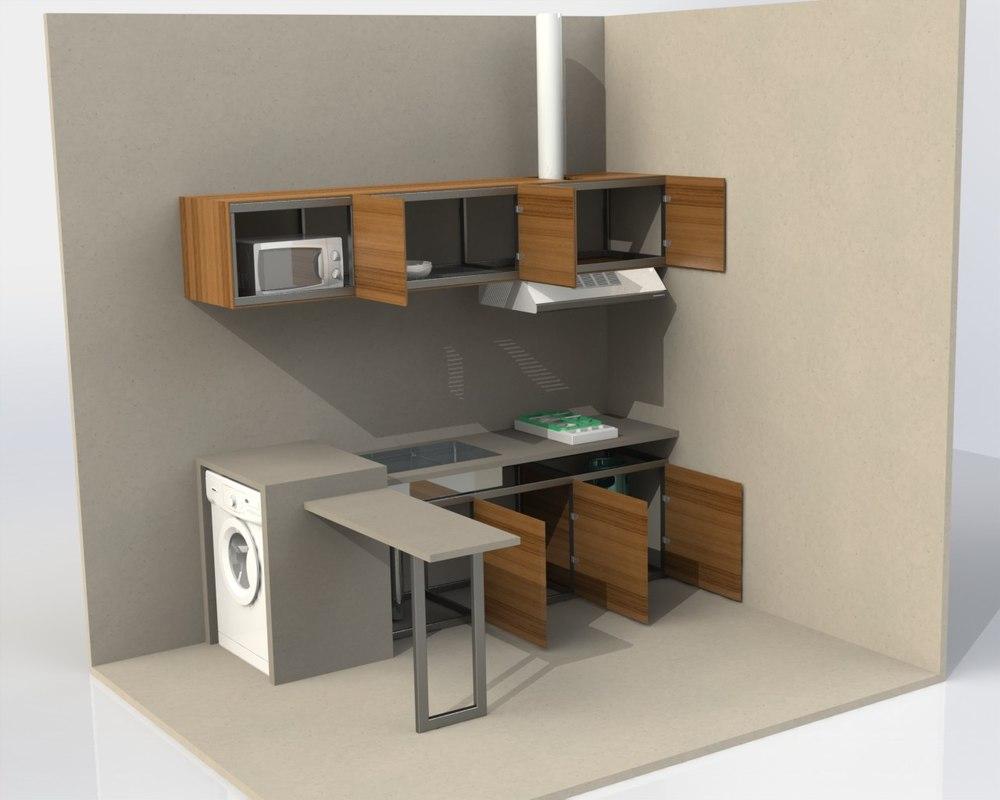 Minimalist kitchen set cicion