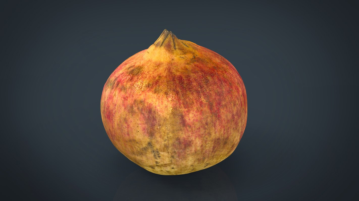 pomegranate 3d max