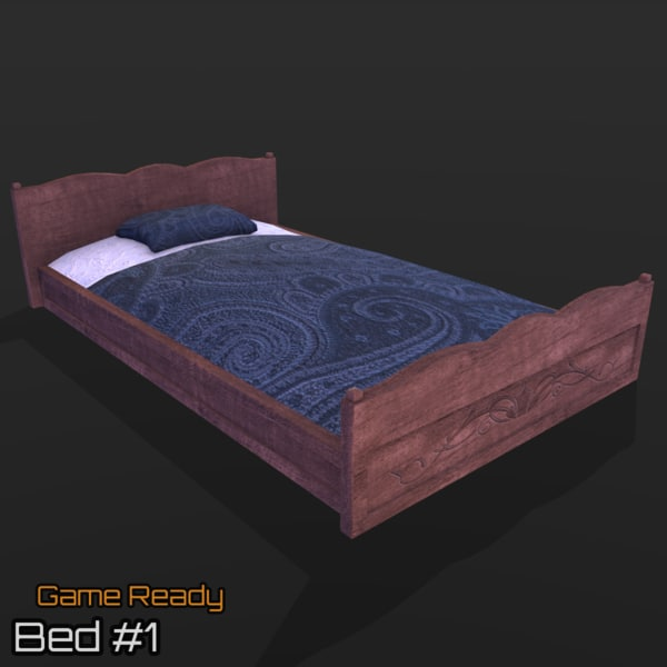 ready bed 3d 3ds