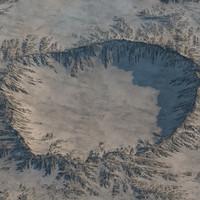 fbx crater realistic