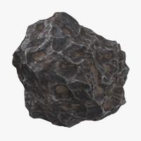 meteorite 03 - 3d model