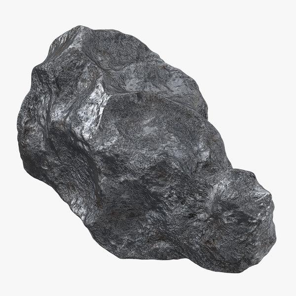 meteorite iron 02 - 3d max