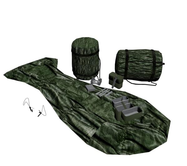 3d survival bundeswehr model