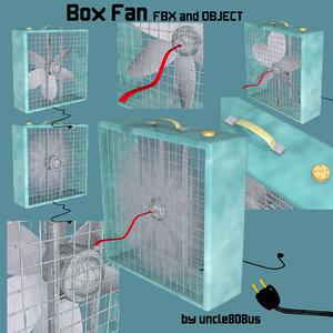 cool box fan 3d x