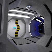 3d model interior modular