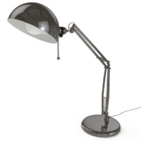 metal office table lamp object max