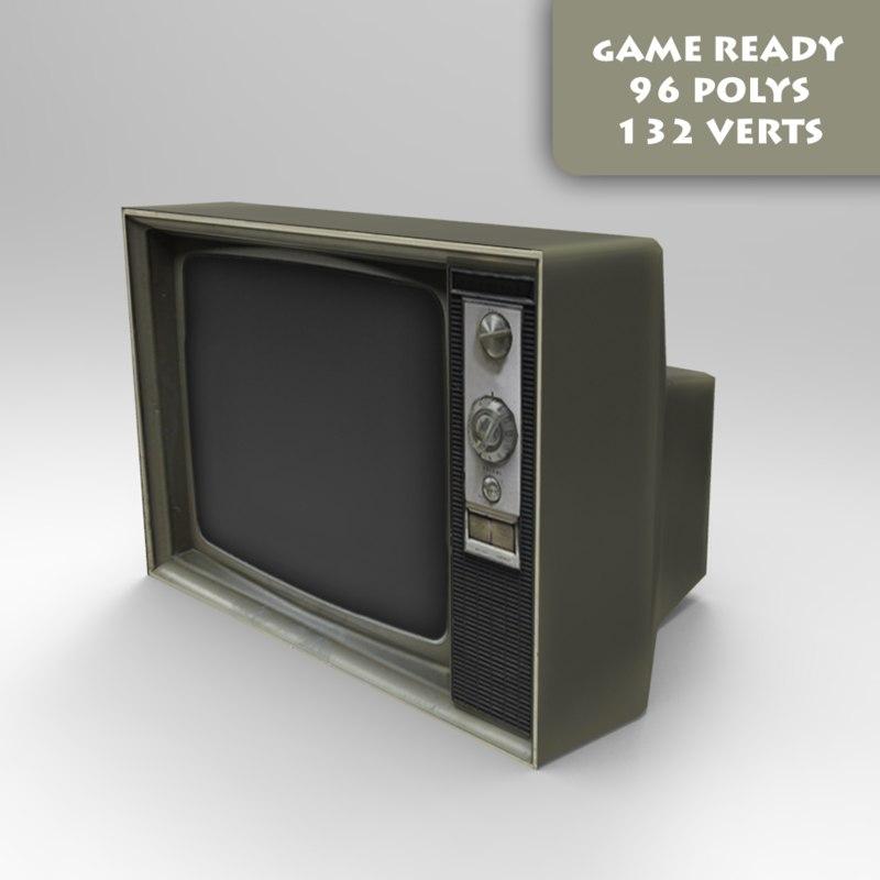 ready tv 3d model