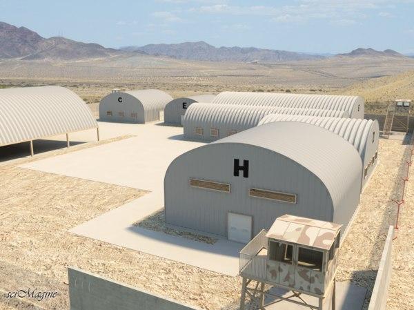 military compound ma