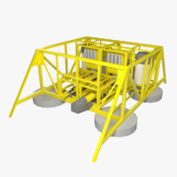 3d max subsea compression station