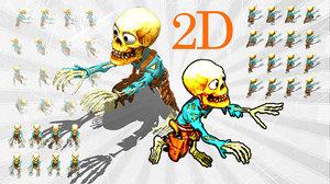 2D Toon Skeleton