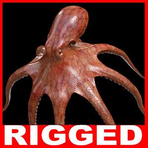 tentacles octopus c4d