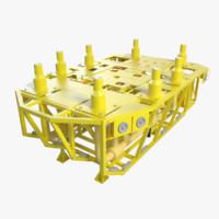 Subsea Template Manifold