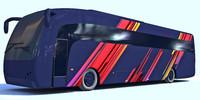 3d bus model