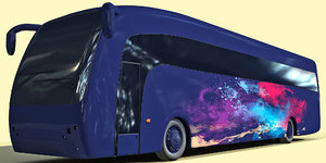 bus 3d dxf